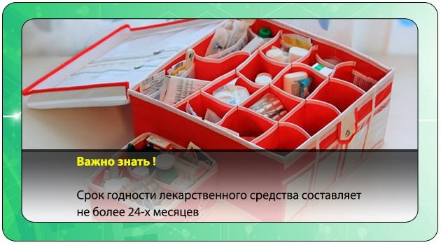 Домашняя аптечка с лекарствами