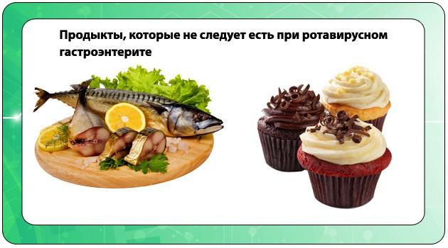 Запрещенные продукты при заболевании