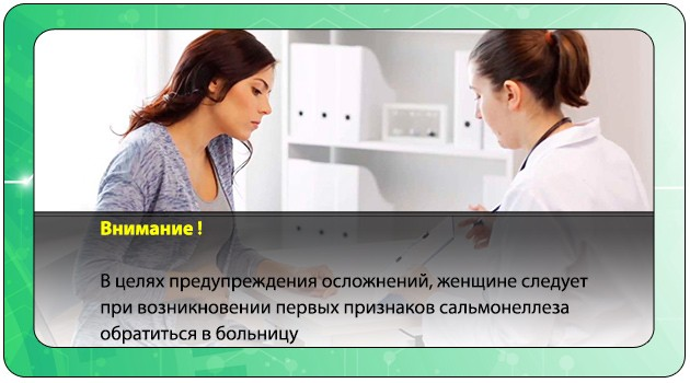 Беременная обращается к врачу