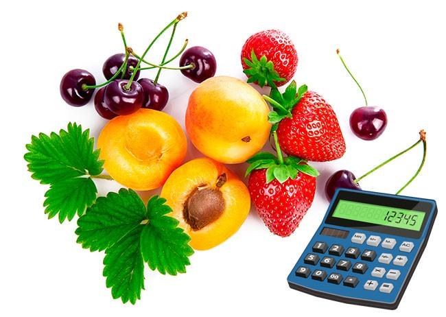 Калькулятор потребления суточной нормы витаминов